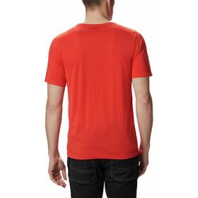 Columbia Terra Vale II Camiseta Manga Corta Hombre, wildfire roam hex